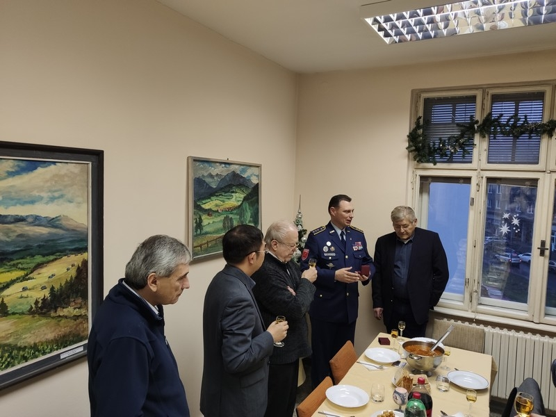 Posledné rokovanie Rady Klubu generálov SR a vianočná kapustnica členov KG SR v Bratislave